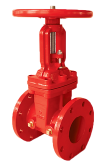 Ref. 201A/20 Resilient Seat Gate Valve Rising Stem Flanged End 200PSI UL/FM FS