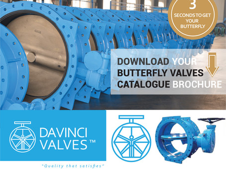 DAVINCI BUTTERFLY VALVES   (Download in 3 seconds)