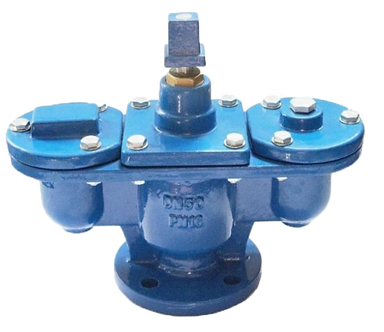 Ref. 99/503A AIR RELEASE VALVE  WITH CUT VALVE TRIPLE FUNCTION  FLANGED END