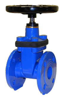 Ref. 200A/09  Resilient Seat Gate Valve Non-Rising Stem F4 PN10-16