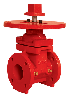 Ref. 201A/52 Resilient Seat Gate Valve Flanged End ISO Flang Top 300PSI UL/FM FS