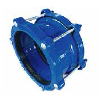 Ref. 615/124 DEDICATED COUPLING FOR DUCTILE IRON PIPE