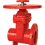 Thumbnail: Ref. 261A/59 Resilient Seat Gate Valve Flange End ISO Flange Top 300PSI UL/FM FS