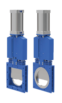 Ref. 880A/111 UNIDIRECTIONAL SEALING KNIFE VALVE