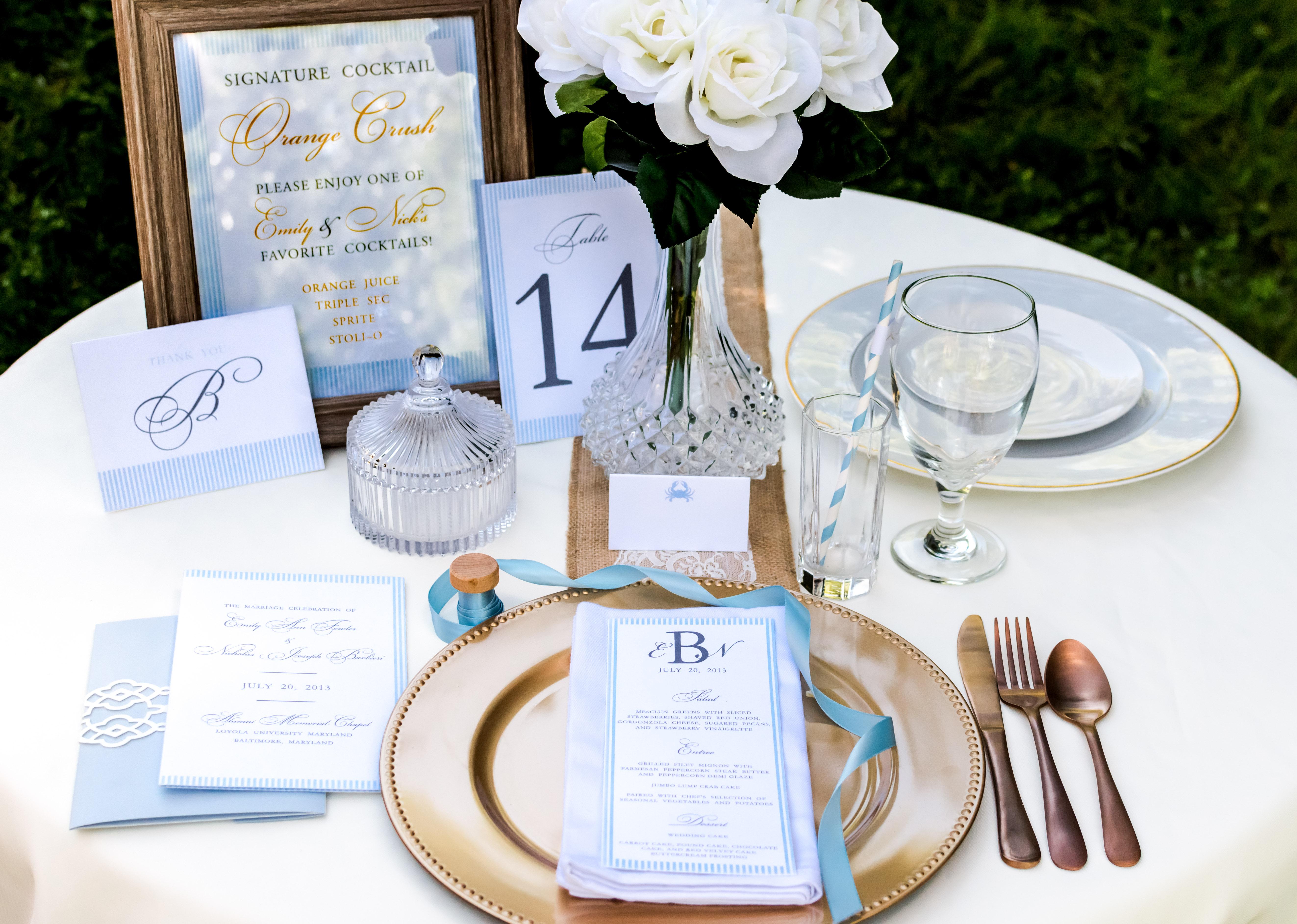 Elegant Bridal Table