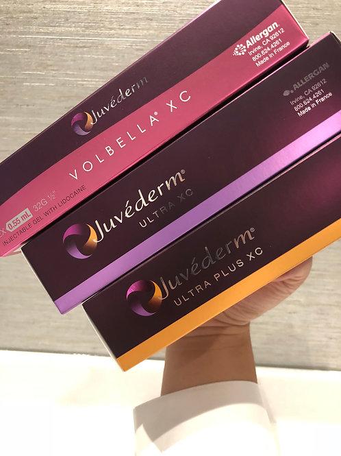 Juvederm Ultra XC or Ultra Plus XC - (1) Syringe