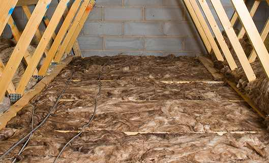 1st Layer Loft Insulation