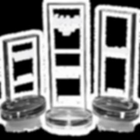 Galvanos de cristal con grabado láse gratis