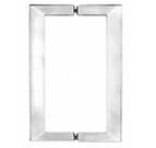 Square Pull Handle for Shower Glass Door