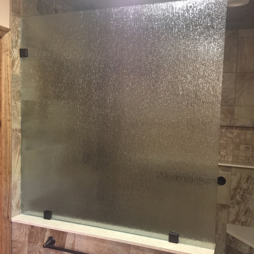 Rain Glass Panel with Clips