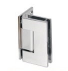 Offset Plate Hinge for Shower Glass - Glass to Wall