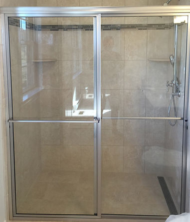 Framed Bypass Shower Enclosure