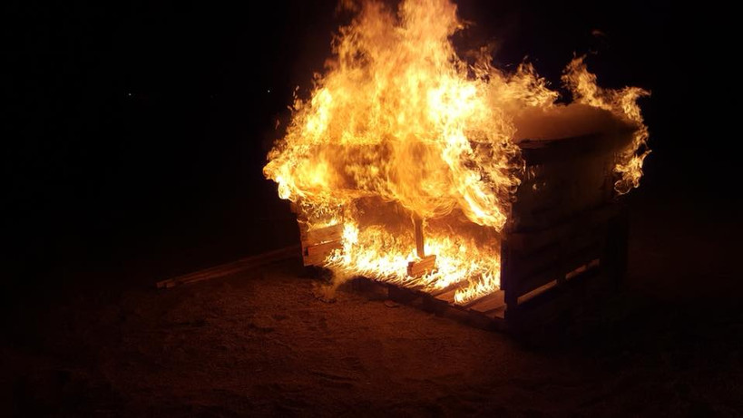 """Ausbildungsabend zum Thema """"Brandphänomene"""" 002"""