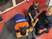 Erste-Hilfe Ausbildung der Jugendfeuerwehr