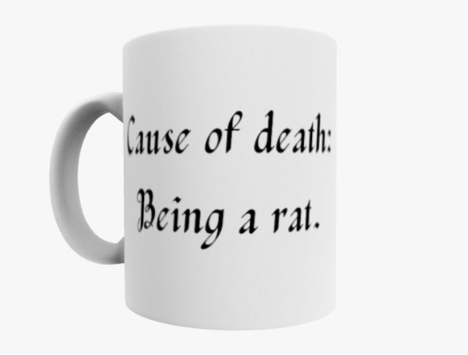 Line of Duty - Being a rat mug