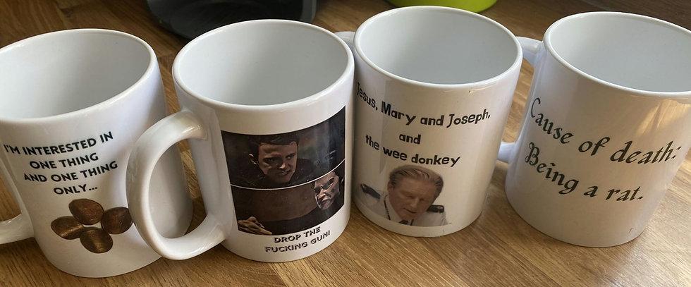 Line of Duty 4 mug gift set