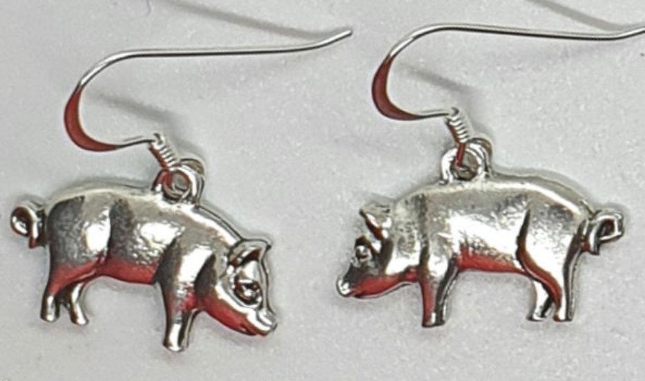Little pig earrings