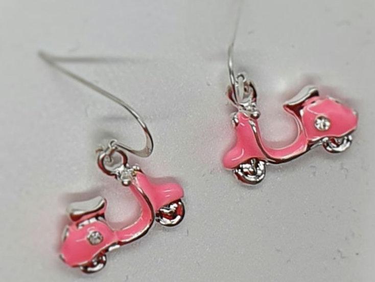 Vespa style earrings
