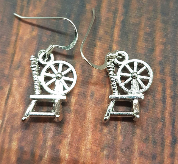 Spinning Wheel earrings