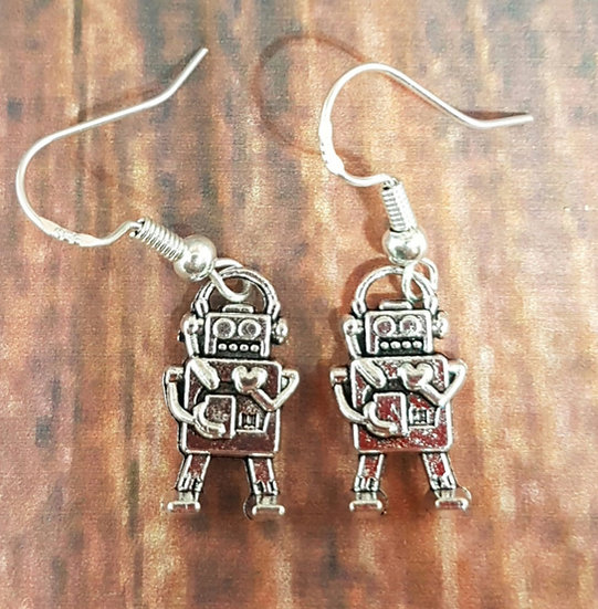 Rocking Robot earrings