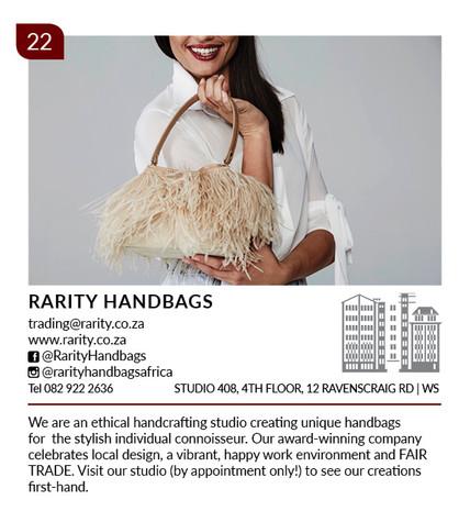Rarity Handbags Woodstock Listing 2020 v