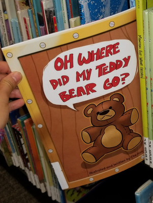 Oh Where Did My Teddy Bear Go?