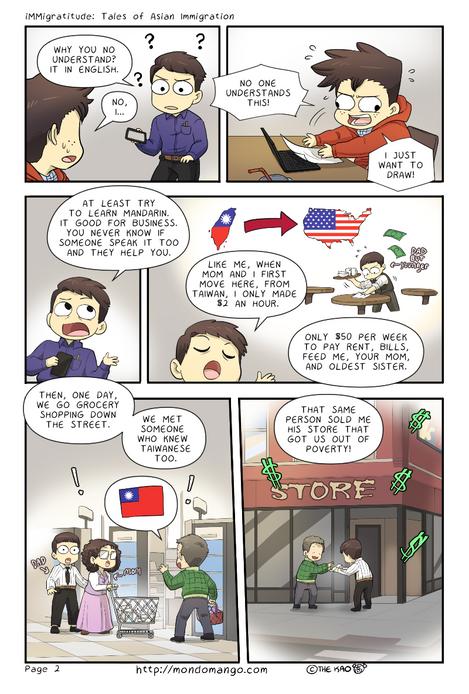 "Immigratitude: ""Power of Communication"" 2/4"