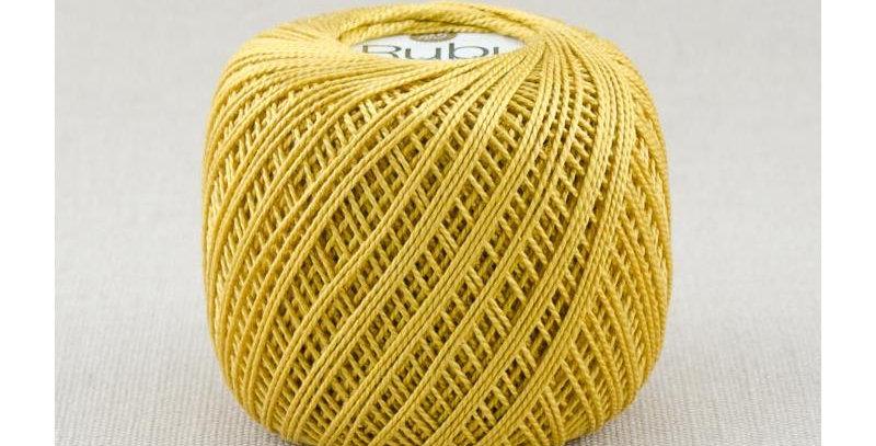 Rubí oro ovillo de perlé 5/50 103