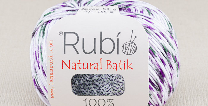 Rubí Natural Batik 004