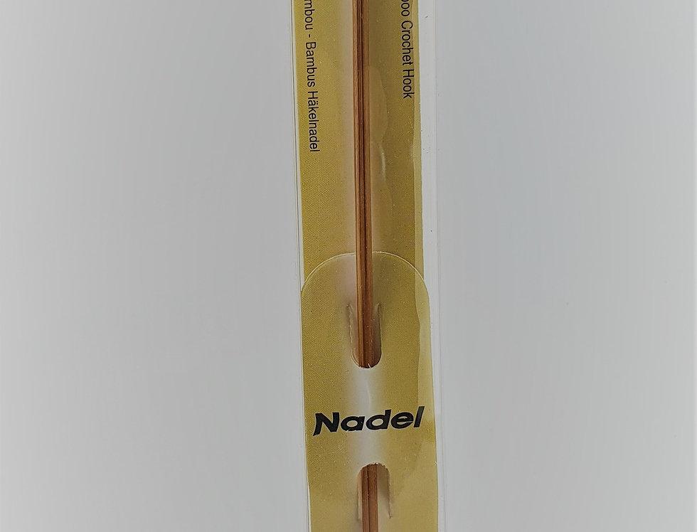 Aguja ganchillo bambú
