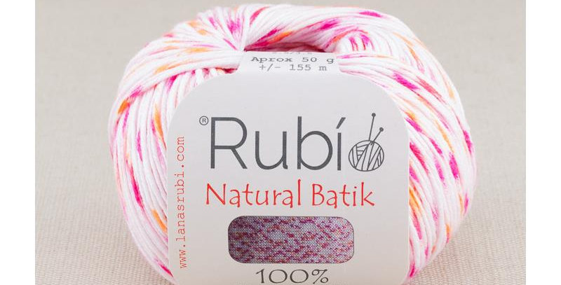 Rubí Natural Batik 002