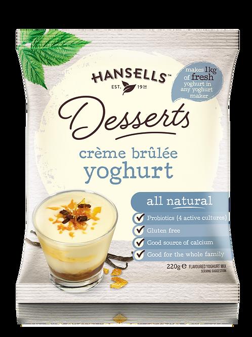 HANSELLS Desserts Crème Brûlée Yoghurt