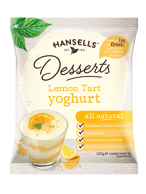 HANSELLS Thick & Creamy Lemon Tart Yoghurt