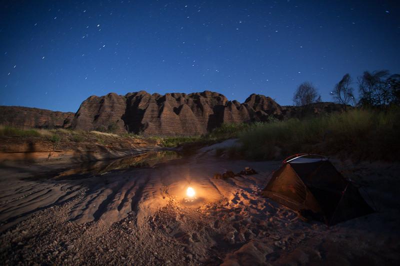 Bungles at night