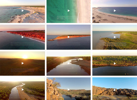 Aerial Stock Video Footage | The Kimberley, Western Australia