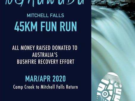 Bushfire Fundraiser   45km Fun Run