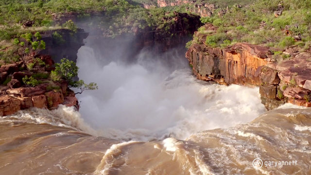 Mitchell Falls   Wet Season