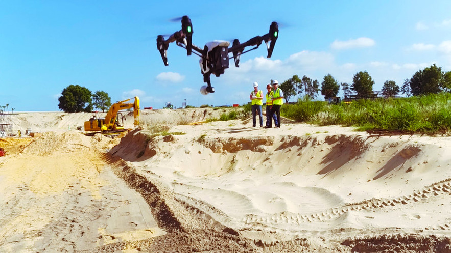 Professioal drone operator, Darwin, Northern Territory. Drones in constuction. Drone mapping & inspections.