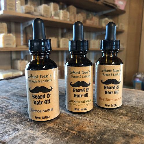 Beard & Hair Oil