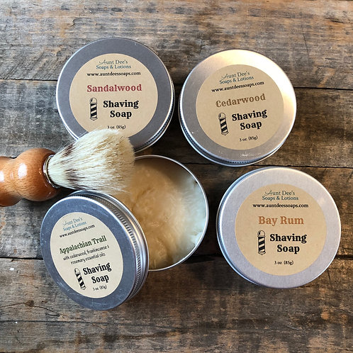 Handcrafted Shaving TINS