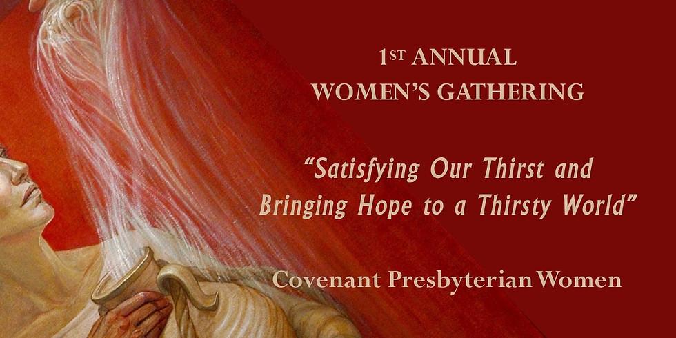 1st Annual Women's Gathering