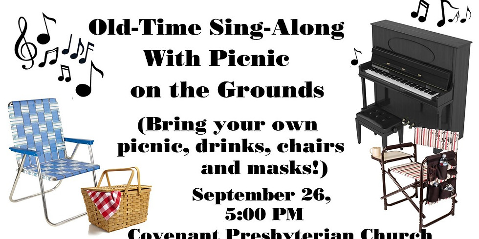 Old-Time Sing-along with Picnic on the Grounds