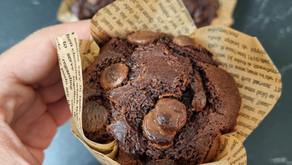 מאפינס שוקולד ללא גלוטן מושלם