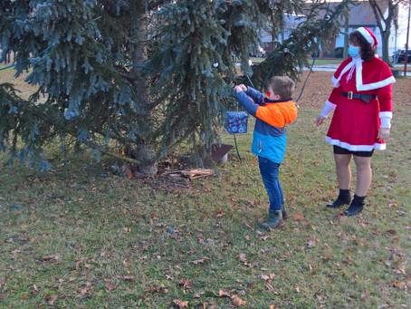 Weihnachtsbaumschmücken in Schöneiche am 2. Advent