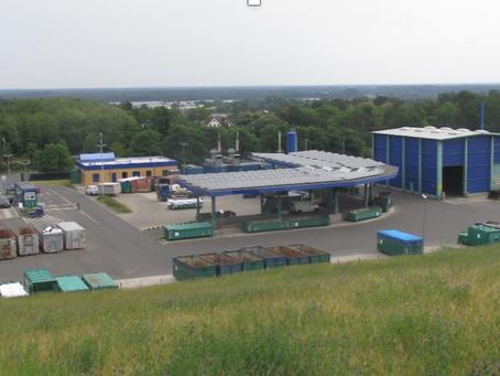 Besuch im Recyclinghof Luckenwalde: KITA Schöneiche