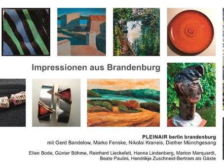 PLEINAIR Berlin-Brandenburg und Gastkünstler*innen – NEUE GALERIE – Bücherstadt Wünsdorf