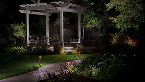 Meston Brothers landscape lighting installation and service