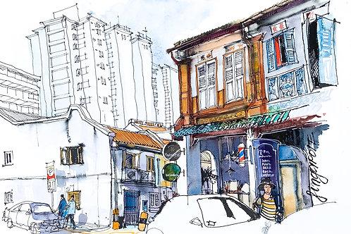 Singapore, Duxton Hill