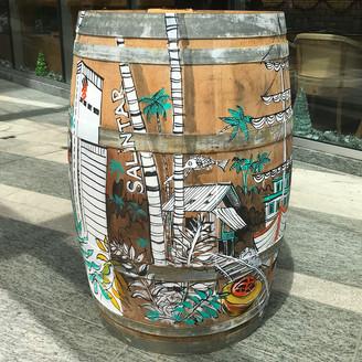 Barrell art by Alena Kudriashova