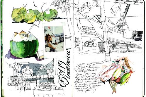 Sketchbook | Bali